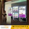 Wall Mounted LED Acrylic Crystal Light Box LED Iluminated Photo Frame Crystal Light Box