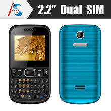 cheapest price dual sim gsm quad band feature qwerty keyboard mobile phone