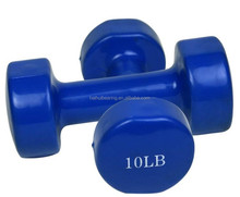 YY003 hex end w.cambered grip dipping dumbbell weight set price