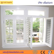 2015 hot sell high quality pvc louver windows