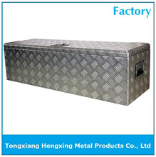 aluminium checker plate storage box