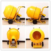 120-240L Hand Push Manual Handle Electric Motor Cement Mixer Concrete Mixer