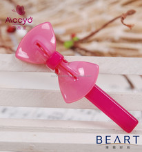 Fashion cellulose acetate bow hair ornament for children