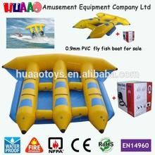 0.9 mm pvc inflable banana boat barco de venta