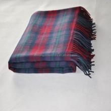 factory supply 100% pure wool blanket, wool rugs