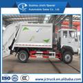 Camión compactador de basura, camión de la basura dimensiones, camión de la basura sino howo 4x2 10 cbm para la venta