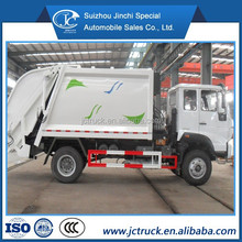 Garbage compactor truck,garbage truck dimensions, garbage truck SINO HOWO 4X2 10CBM for sale