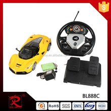 1:12 toys rc car made in china for sale with open the door