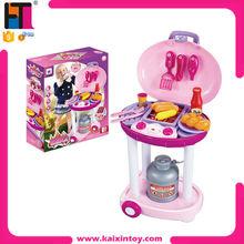 Hot Sale Funny Shopkins Toys Plastic Pretend BBQ Play Set