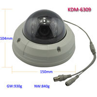 Factory price sony ccd varifocal lens dome camera specification