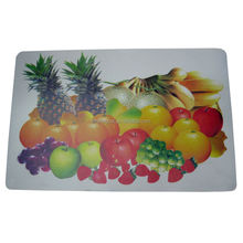 cmyk full color picture purple and green placemats