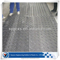 build platforms plate for heavy vehicles/heavy duty temporary access mats/portable roadway systems