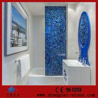 Luxury material natural agate semi-precious stone countertop and vanity top