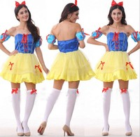 snow white cosplay Halloween Costume Suppliers Wholesale sexy lingerie