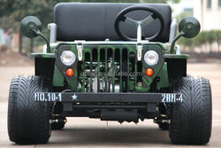 motorcycle four wheels mini jeep willys 150CC with CE