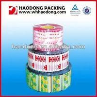 custom plastic packaging roll perforated food packaging film