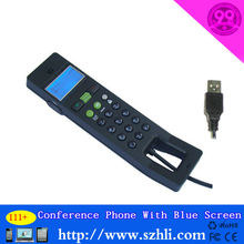 USB VOIP Phone Dot Matrix LCD Display with Backlight Model 111+ with LCD noise reduction VOIP phone with Display for Skype