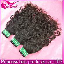 New style prompt shipping hair extensions gray human hair
