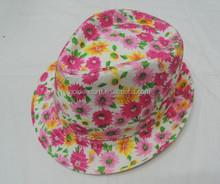 ladies lace fedora hat