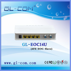 highly compatibility 4 ports eoc slave IPTV EOC Slave Coax Cable Modem