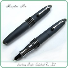 unique top seller metal ball pen sports short small black pen