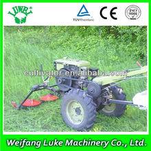 cheap 8-20hp walk tractor mounted grass cutter lawn mower