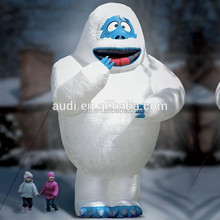 giant inflatable bumble snow monsters /advertising event inflatable replica