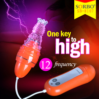 SORBO Powerful Silicone Adult Sex Toys for Girls/Silicone Clitoris Stimulator with CE China Supplier