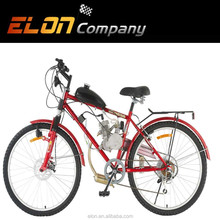 24'' steel frame 2 stroke 80cc high speed racing gas bicycle (E-GS204 red)