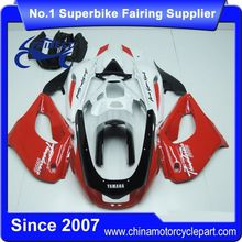 FFKSU014 Motorcycle Fairings For TL1000R 1998-2002 Black And White