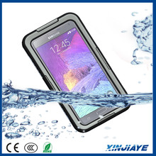Waterproof Silicone Phone Case for Samsung Note 4 Note Edge