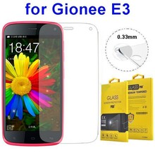 In Stock 0.33mm Tempered Glass Screen Protector for Gionee E3
