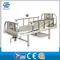 SJ-IB001 CE,ISO approved 1-function manual hospital adult cot for sale