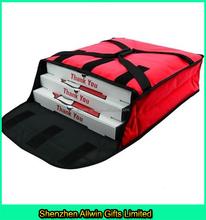 Large 1680D Polyester Pizza Delivery Bag,Red or Black Color Resistant Pizza Bag