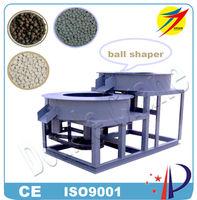 Cow manure organic fertilizer pellet making machine, cow manure organic fertilizer ball shaper