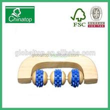 Handy Wooden body massager roller massager body massage machine WM002
