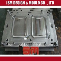 plastic lunch box mould/ molding/ tooling maker