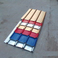 Good quality new products stone chips coated steel roofing tiles