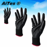 Free shippinhg hot selling ! nitrile work gloves factory price fast shipping size 7 8 9 10 11 2 EN338 ISO9001 CE