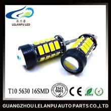 T10 5630 16SMD Canbus W5W 12V Super Bright Reverse Light LED Car Light Auto Led Head Light Led