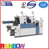 New Condition and Letterpress Plate Type Color Business Card Printing machine