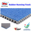 Outdoor playground athletic running track material