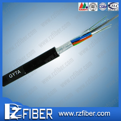 Factory direct sales T/S 1200 gyta 12 core fiber optic cable/ outdoor armored optical fiber cable