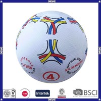 cool promotional rubber football