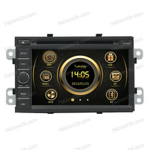 hd digital LCD monitor auto accessory 2 din in-dash car radio dvd player with gps navigation&bluetooth for Chevrolet Spin