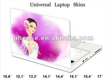 New!!! pretty girl design Laptop Skin, Customization for any dimension or size is available