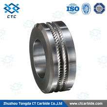 Tongda Supply hard wearing tungsten carbide roll rings for rolling reo bar