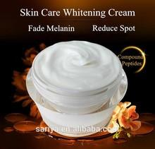crema para blanquear y cuidar piel péptido con melannin y reducción de moteado effection