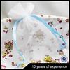 MINI china custom organza bags round organza pouch organza bags for tea