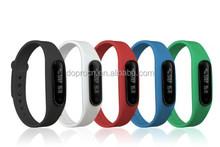 2015 hot selling new design waterproof smart bracelet , multifunctional smart bracelet/ watch